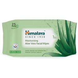 Himalaya Moisturising Aloe Vera Facial Wipes 25 Sheets