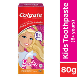 Colgate Kids Barbie Toothpaste 80g (Strawberry Flavour)