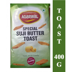 Agarwal Special Suji Butter Toast 400g