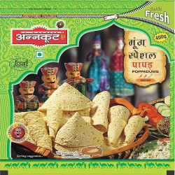 Annkoot Moong Special Papad 400g